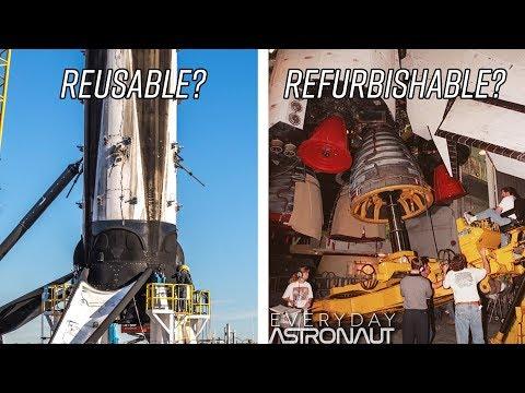 Bude opakované použití Falconu 9 snazší než u raketoplánu?