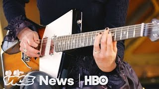 St Vincents Signature Guitars VICE News Tonight On HBO