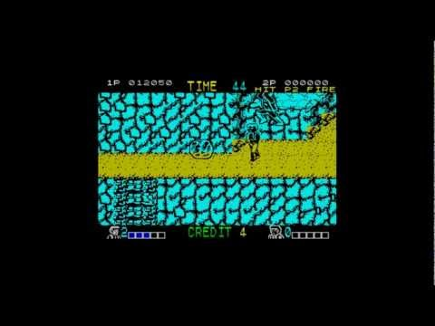Double Dragon ZX Spectrum Long Play