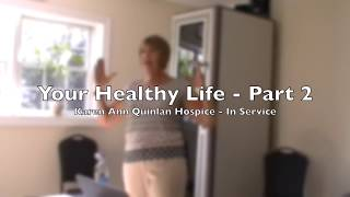 Healthy Lifestyle - Dr. Kim Stetzel - Part two