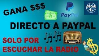 Como Ganar Dinero Para PayPal Escuchando La Radio