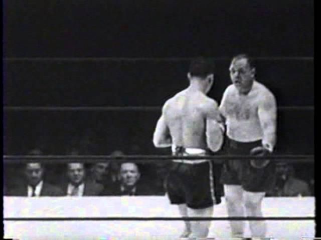 Joe Louis vs. Tony Galento, 1939, (KO4)