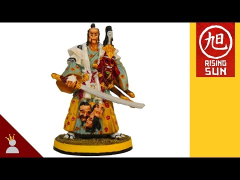 Rising Sun Painting: Bonsai Daimyo