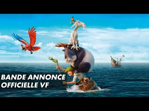 ROBINSON CRUSOE - Bande annonce officielle VF (2016)