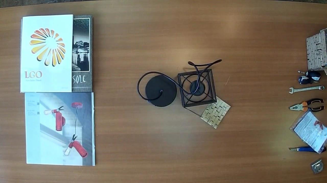 Подвесной светильник Lussole Loft LSP-9540