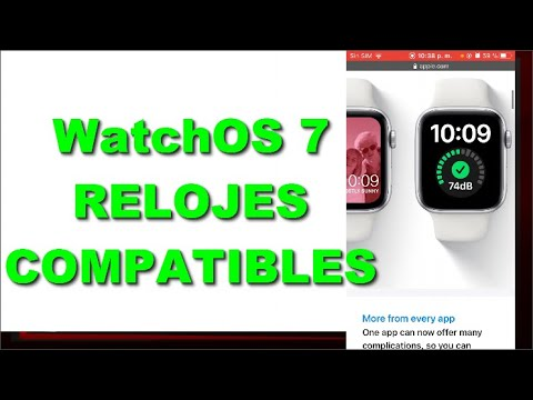 WatchOS 7 RELOJES COMPATIBLES - APPLE WATCH OS 7 | MIGUEL MEDINA MM
