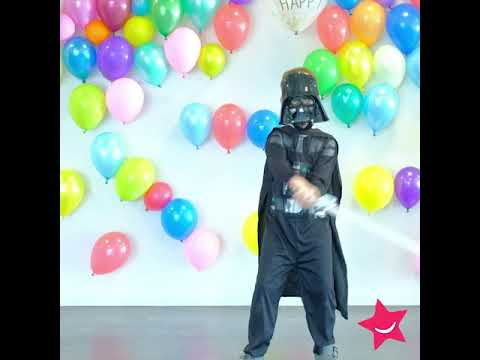 Darth Vader kostuum voor kinderen