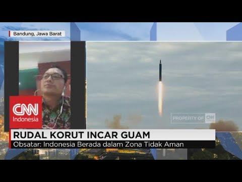 Rudal Korut Incar Guam - Obsatar Sinaga, Pengamat Hub. Internasional Unpad