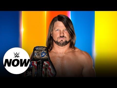 AJ Styles live SummerSlam interview: WWE Now