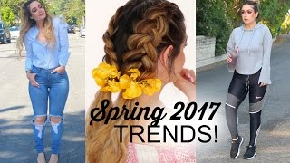 SPRING HAIR & CLOTHING TRENDS + FESTIVAL OUTFIT IDEAS 2017!