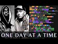 2Pac & Eminem - One Day At A Time | Lyrics, Rhymes Highlighted