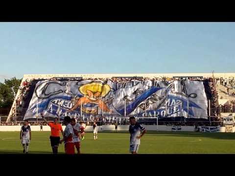 """""""DEPORTIVO MERLO DE MI VIDA..nuevo Telón"""" Barra: La Banda del Parque • Club: Deportivo Merlo"""