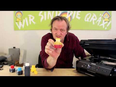 Epson Druckerpatronen Serie 29 Anleitung zum Nachfüllen