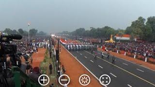 360 Degree View Of India's 68th Republic Day Parade In Delhi
