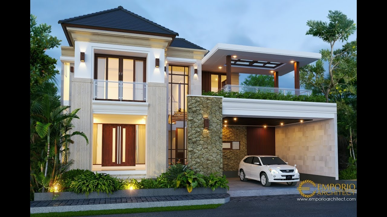 Desain Rumah Villa Bali 2 Lantai Bapak Hasyim Di Singaraja Bali