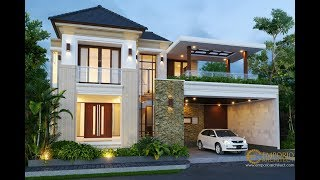 Video Mr. Hasyim Villa Bali House 2 Floors Design - Singaraja, Bali