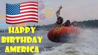 Crazy Tubing on America's Birthday 🇺🇸 (WK 339.7)   Bratayley