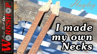 How to make a Guitar Neck