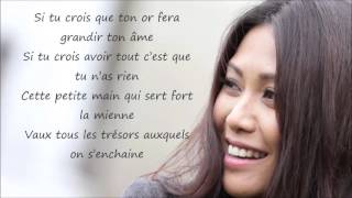 Anggun - A nos enfants Paroles