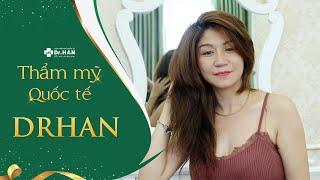 Khách hàng Quỳnh Anh chia sẻ cảm nhận trước khi căng da mặt không phẫu thuật