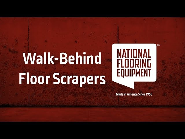 Walk-Behind Floor Scrapers Video