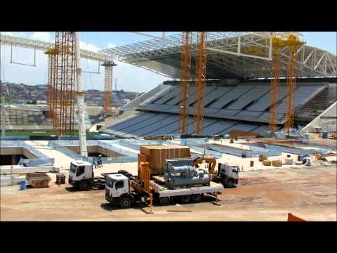 Imagens de tirar o fôlego da Arena Corinthians