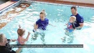 The best way to start your babies & toddlers on their swimming journey