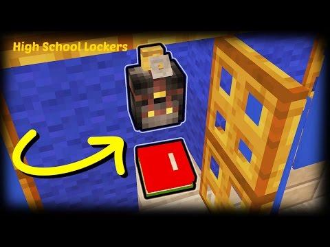 Minecraft - How To Make High School Lockers Minecraft Project