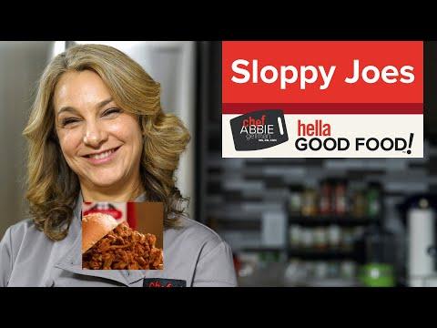 Mushroom Sloppy Joes with Turkey