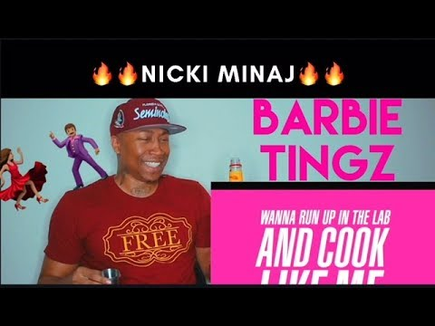 Nicki Minaj - Barbie Tingz (Lyric Video) [REACTION!!!] (🔕NO SOUND🔕)