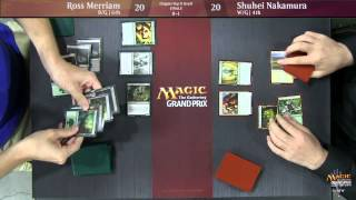 Grand Prix Dallas/Fort Worth 2015 Finals: Ross Merriam vs. Shuhei Nakamura (Draft)