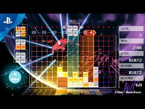 Lumines Remastered – Announce Trailer | PS4 thumbnail