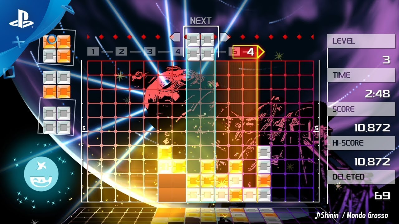 Lumines Remastered Announced, Shinin' Brighter Than Ever on PS4