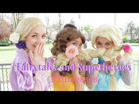 Fairytales and Superheroes Video