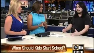 When should children start kindergarten?