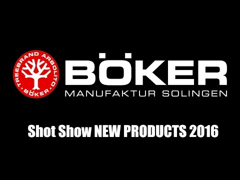 Boker New Products | Shot Show 2016