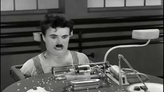 """Skibidi & Чарли Чаплин """"Modern Times"""" 1936 (озвучка старого кино)"""