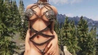 Armor for Skyrim - Wolf Bikini Armor UUNP