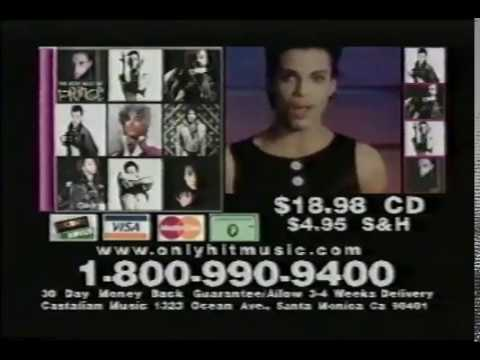 The Very Best Of Prince - TV Advertisement (2004) - New Ace