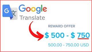 Earn $750 Per Day from GOOGLE TRANSLATE! | Make Money On Google (Make Money Online 2020!)