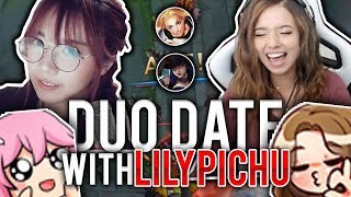 SHOWER SECRETS? NEW POKI X LILY DUO DATE! | Pokimane