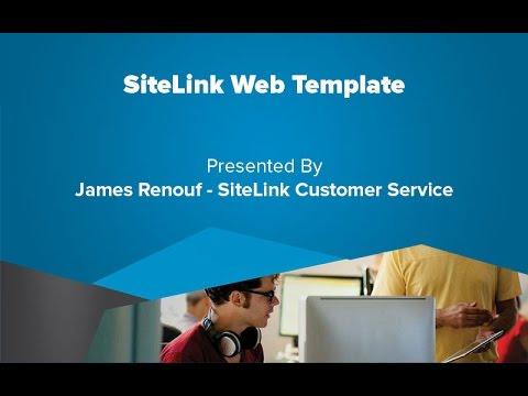 SiteLink Web Template - SiteLink Training Video - YouTube