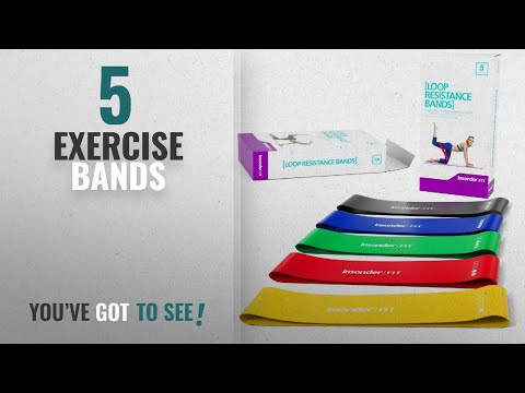 Top 10 Exercise Bands [2018]: Resistance Bands Exercise Bands Mini Bands Set - Resistance Loop