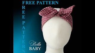 How To Make Knotted Headband With FREE PATTERN