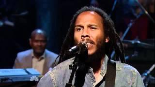 Ziggy Marley - Get Up, Stand Up 5/9/11 Jimmy Fallon LateNite