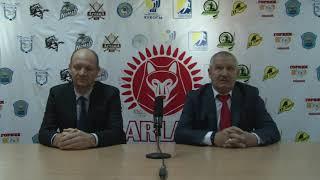 МЛК «Jastar». Пресс-конференция МХК« Арлан» - МХК «Астана», игры №13, №18