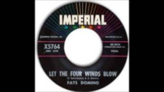 "Fats Domino  ""Let The Four Winds Blow""  1961  Imperial Records"