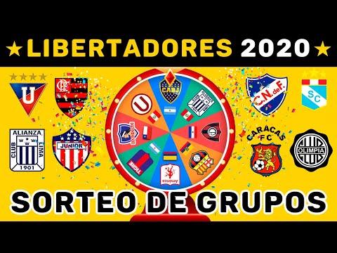 SORTEO Alternativo Grupos Copa LIBERTADORES 2020 + PREDICCIÓN