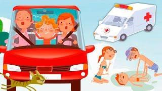 Мультики про машинки и БЕЗОПАСНОСТЬ Для детей! Мультфильмы 2017 года. Развивающее видео Анимашка