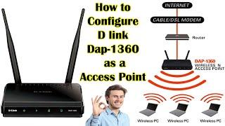 How to configure dlink access point dap-1360 | D-Link DAP-1360 Wireless N Range Extender |
